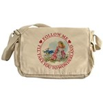 Follow Me To Wonderland Messenger Bag