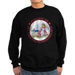 Follow Me To Wonderland Sweatshirt (dark)
