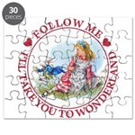 Follow Me To Wonderland Puzzle