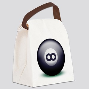 Infinity Eight Ball Canvas Lunch Bag