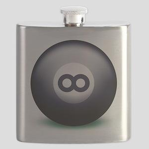 Infinity Eight Ball Flask