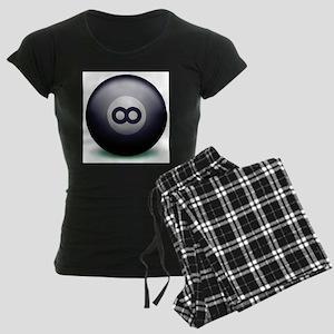 Infinity Eight Ball Women's Dark Pajamas