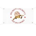 Humpty Dumpty Banner