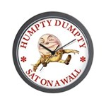 Humpty Dumpty Wall Clock