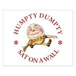 Humpty Dumpty Small Poster