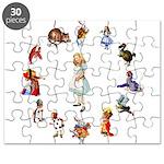 All Around Alice Puzzle