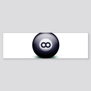 Infinity Eight Ball Sticker (Bumper)