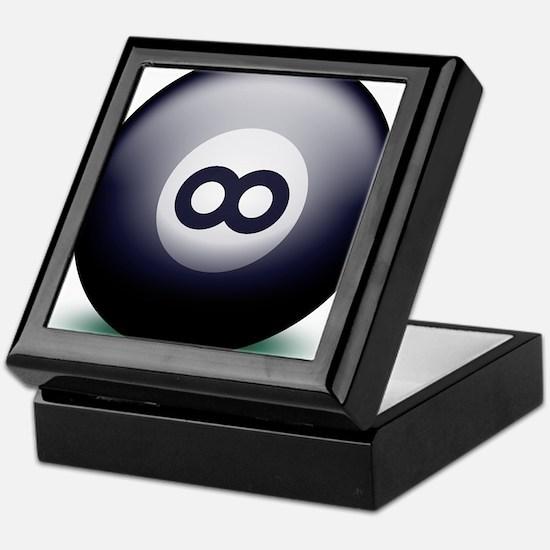 Infinity Eight Ball Keepsake Box
