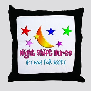 Registered Nurse IV Throw Pillow
