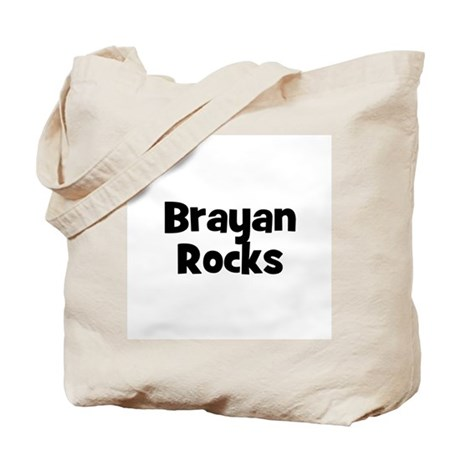 Brayan Rocks Tote Bag