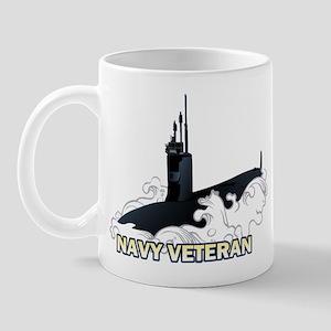 Navy Veteran SSN-23 Mug