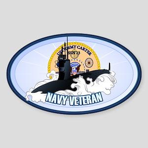 Navy Veteran SSN-23 Sticker (Oval)