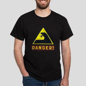 Danger! Shorebreak Dark T-Shirt