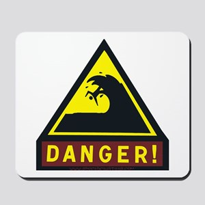 Danger! Shorebreak Mousepad
