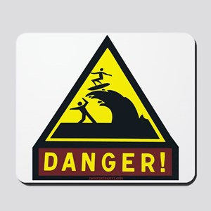 Danger Shorebreak Mousepad