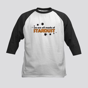 We Are All Made Of Stardust Kids Baseball Jersey