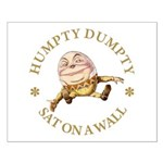 Humpty Dumpty Small Poster