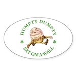 Humpty Dumpty Sticker (Oval 10 pk)