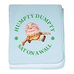 Humpty Dumpty baby blanket