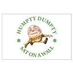 Humpty Dumpty Large Poster