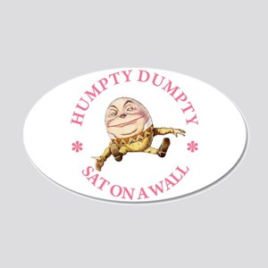Humpty Dumpty 22x14 Oval Wall Peel