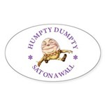 Humpty Dumpty Sticker (Oval 50 pk)