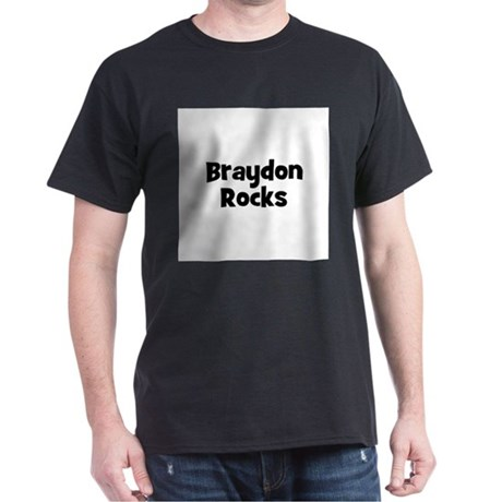 Braydon Rocks Black T-Shirt