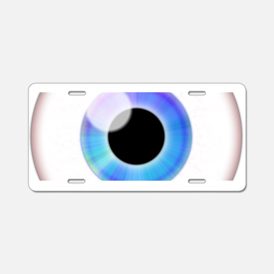 Eyeball.png Aluminum License Plate