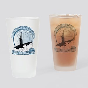 Designed to Sink Drinking Glass