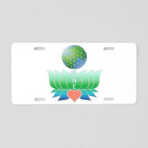 Oneness Aluminum License Plate