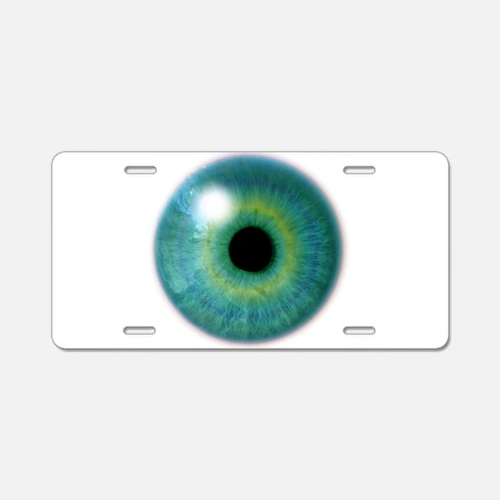 Cyclops Eye Aluminum License Plate
