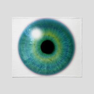 Cyclops Eye Throw Blanket