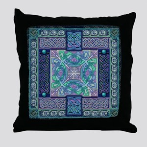Celtic Atlantis Opal Throw Pillow