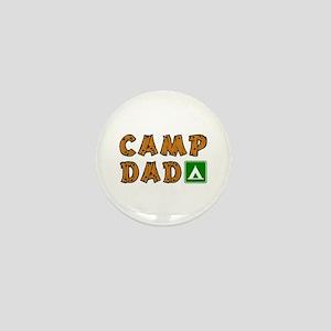 Camp Dad Mini Button