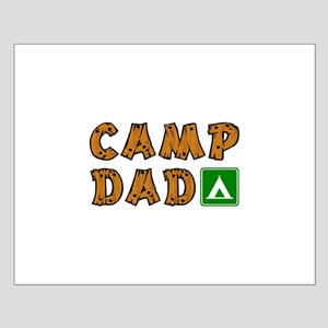 Camp Dad Small Poster
