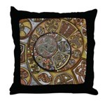 Celtic Steampunk Throw Pillow