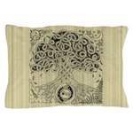 Celtic Tree of Life Ink Pillow Case