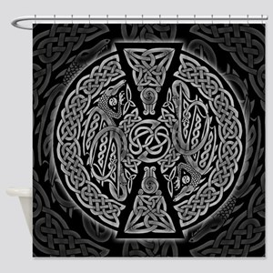 Celtic Dragons Shower Curtain