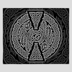 Celtic Dragons King Duvet Cover
