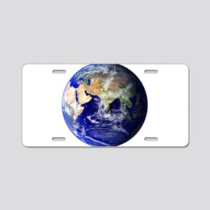 Earth (Middle East) Aluminum License Plate