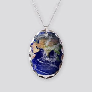 Earth (Middle East) Necklace Oval Charm