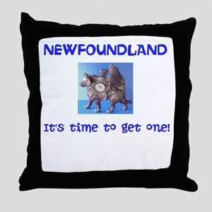 It's Time! Throw Pillow