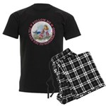 Follow Me To Wonderland Men's Dark Pajamas