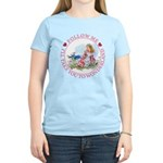 Follow Me To Wonderland Women's Light T-Shirt