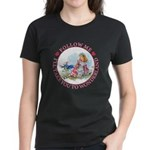Follow Me To Wonderland Women's Dark T-Shirt