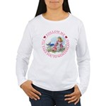 Follow Me To Wonderland Women's Long Sleeve T-Shir