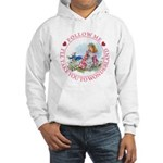 Follow Me To Wonderland Hooded Sweatshirt