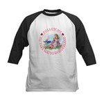 Follow Me To Wonderland Kids Baseball Jersey