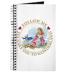 Follow Me To Wonderland Journal
