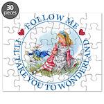 Follow Me To Wonderland Puzzle